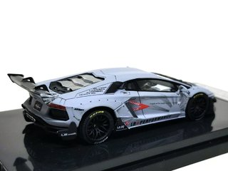 PRÉ VENDA Resina 1:64 LB Performance Lamborghini LP700-4 Aventador 2.0 Wide Body - Cinza Fosco - buy online