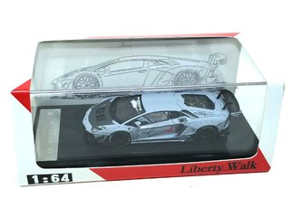 PRÉ VENDA Resina 1:64 LB Performance Lamborghini LP700-4 Aventador 2.0 Wide Body - Cinza Fosco on internet