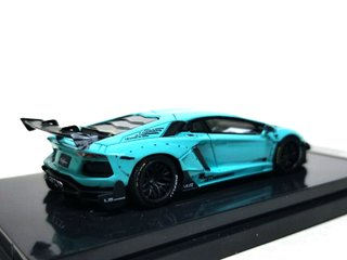 PRÉ VENDA Resina 1:64 LB Performance Lamborghini LP700-4 Aventador 2.0 Wide Body - Tiffany Blue - buy online