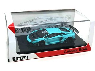 PRÉ VENDA Resina 1:64 LB Performance Lamborghini LP700-4 Aventador 2.0 Wide Body - Tiffany Blue on internet
