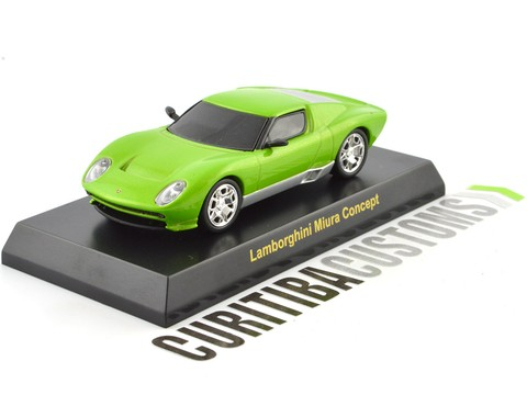 Kyosho 1:64 Lamborghini Miura Concept - Green on internet