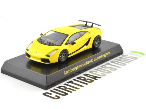 Kyosho 1:64 Lamborghini Gallardo Superleggera - Yellow on internet