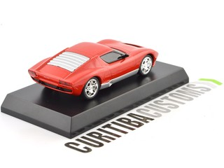 Kyosho 1:64 Lamborghini Miura Concept - Red on internet