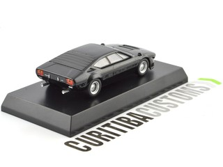 Kyosho 1:64 Lamborghini Urraco Rally - Black - Curitiba Customs
