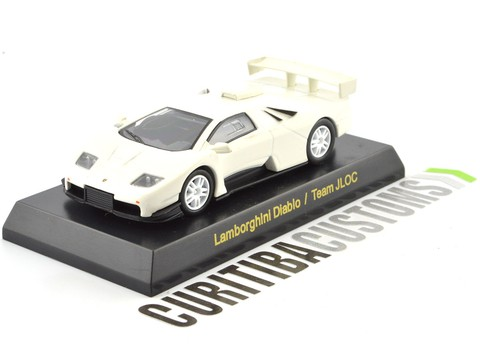 Kyosho 1:64 Lamborghini Diablo JLOC - White on internet