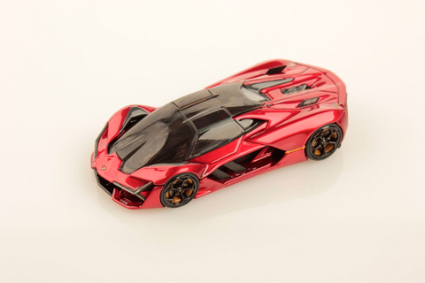 MR Collection Models 1:64 Terzo Millennio Vermelho Candy