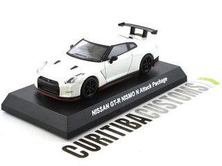 Kyosho 1:64 Nissan GT-R Nismo N Attack Package - Branco - comprar online