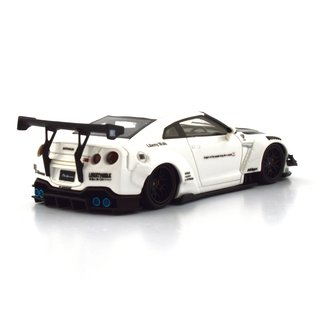 PC Club 1:64 Nissan GT-R 2.0 LB?PERFORMANCE - Branco/Fibra de Carbono - comprar online