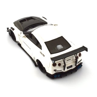 PC Club 1:64 Nissan GT-R 2.0 LB?PERFORMANCE - Branco/Fibra de Carbono - loja online