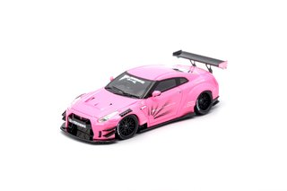 PC Club 1:64 Nissan GT-R 2.0 Rosa Claro