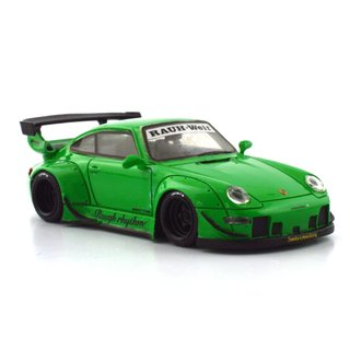 PRÉ VENDA PC Club 1:64 Porsche 911 993 RWB - Rough Rhythm *Exclusivo Brasil