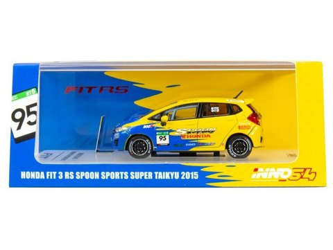 PRÉ VENDA Inno64 1:64 Honda FIT 3 RS GK5#95 Spoon