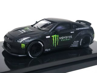 PRÉ VENDA Time Model 1:64 Nissan GT-R Ducktail - Monster