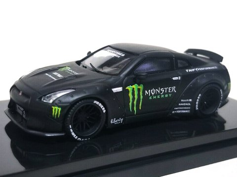 Time Model 1:64 Nissan GT-R Ducktail - Monster