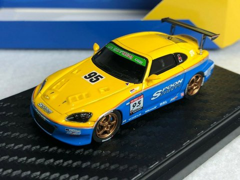 PRÉ VENDA YM Model 1:64 Honda S2000 Spoon