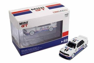 Mini GT 1:64 BMW M3 E30 Exclusivo Macau