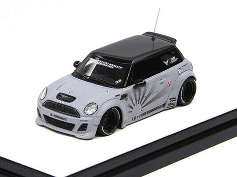 Timothy & Pierre 1:64 Mini Cooper Cinza