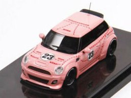 Thimoty & Pierre 1:64 Mini Cooper Lb Performance Pink Pig