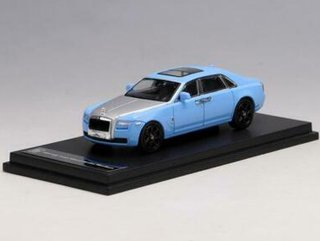 Alloy 1:64 Rolls Royce Ghost Azul