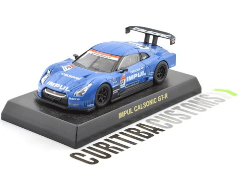 Kyosho 1:64 Super GT500 GT-R Impul Calsonic
