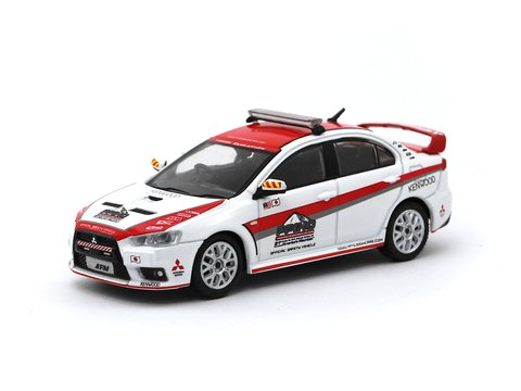 PRÉ-VENDA Tarmac 1:64 Mitsubishi Lancer Evo X Pikes Peak Safety Car