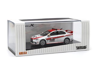 PRÉ-VENDA Tarmac 1:64 Mitsubishi Lancer Evo X Pikes Peak Safety Car - Curitiba Customs