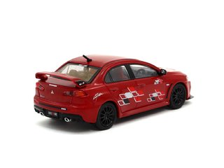 Tarmac 1:64 Mitsubishi Lancer Evo X Ralliart - Red - buy online