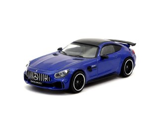 PRÉ VENDA Tarmac 1:64 Mercedes-AMG GT R - Brilliant Blue Metallic