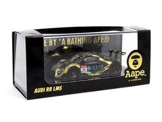 Tarmac 1:64 Audi R8 LMS - China GT 2017 - AAPE/ Tak Chun Group #06 Dourado e Preto on internet