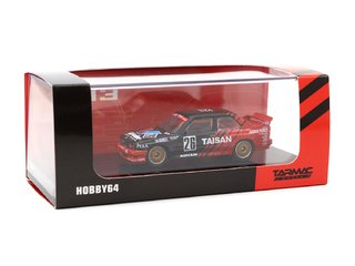 Tarmac 1:64 BMW M3 E30 Class 2 Winner JTCC 1992 Mizuno / Reid - Curitiba Customs