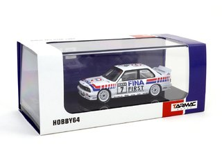 Tarmac 1:64 BMW M3 E30 Evo DTM - Team FINA 1992 - Curitiba Customs