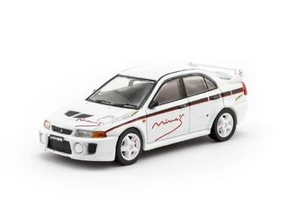 PRÉ VENDA Tarmac 1:64 Mitsubishi Lancer Evolution V Tuned By Mine's