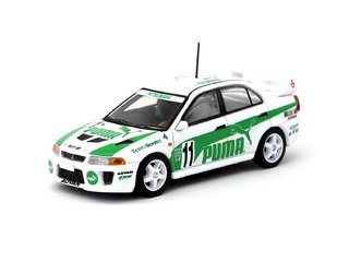 PRÉ VENDA Tarmac 1:64 Mitsubishi Lancer Evolution V Super Taikyu 1998 Puma - TAGCC 2018 Exclusive