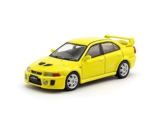 Tarmac 1:64 Mitsubishi Lancer Evolution V Dandelion Yellow