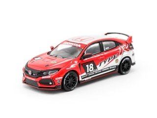 PRÉ VENDA Tarmac 1:64 Honda Civic Type R FK8 NASA 25 Hours of Thunderhill #18