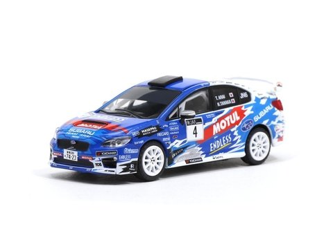 PRÉ VENDA Tarmac 1:64 Subaru WRX STI All Japan Rally Championship 2016 #4
