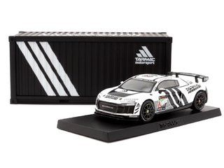 Tarmac 1:64 Audi R8 LMS GT4 Dubai 24 hours 2018 Presentation Version