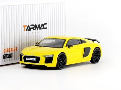 Pedido do Site Tarmac 1:64 Audi R8 V10 Plus - Vegas Yellow
