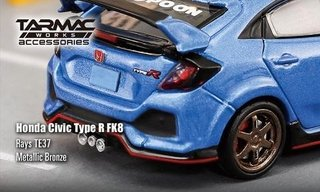 PRÉ VENDA Tarmac 1:64 Accessories RAYS TE37 Metallic Bronze on internet