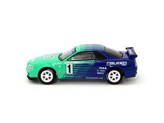 1:64 Tarmac/Greenlight Nissan GT-R R34 Falken on internet