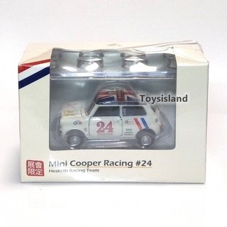 PRÉ VENDA Tiny 1:64 Mini Cooper Hesketh Racing #24