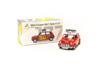 PRÉ VENDA Tiny 1:64 Mini Cooper MK1 Rally Monte Carlo #177