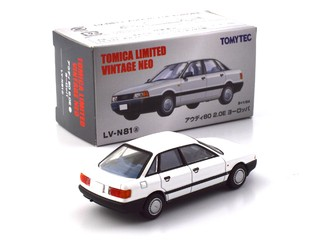TLV 1:64 Audi 80 2.0E Europe - Branco LV-N81a - buy online