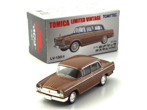 TLV 1:64 Nissan Cedric Custom -  Brown LV-133a