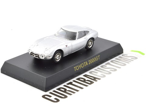 Kyosho 1:64 Toyota 2000GT - Silver