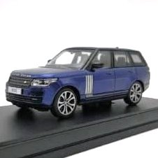 LCD Model 1:64 Range Rover Vogue Azul