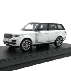 LCD Model 1:64 Range Rover Vogue Branco