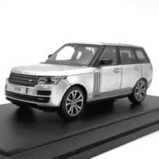 LCD Model 1:64 Range Rover Vogue Prata