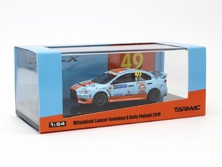 Tarmac 1:64 Mitsubishi Lancer Evo X Rally Finland 2010 - Curitiba Customs