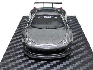 PC Club 1:64 Ferrari 458 LB Performance Cinza Metalico